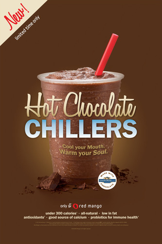Red Mango Introduces Hot Chocolate Chillers Nationwide