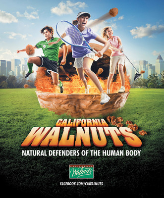 California Walnuts Seeks the Best Natural Ways to Defend the Human Body
