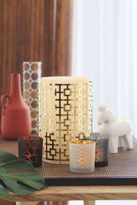 "Jonathan Adler´s ""Safari Chic Collection"" for PartyLite"
