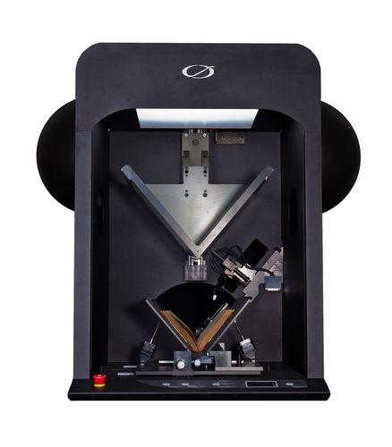 Robotic Book Scan 3.0, the third generation of Qidenus Technologies´ full automatic book scanner. Fotographer: Sebastian Schramek. Copyright: Qidenus Technologies GmbH (PRNewsFoto/QIDENUS TECHNOLOGIES)