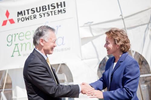 Mitsubishi Salutes the Public-Private Partnership That Brought a $100 Million Wind Turbine