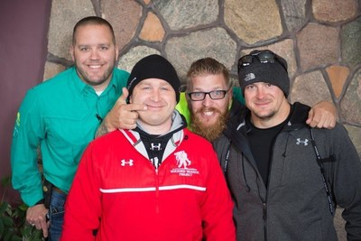 Wounded veterans and their families enjoy a weekend at Leech Lake, at an event hosted by Wounded Warrior Project.