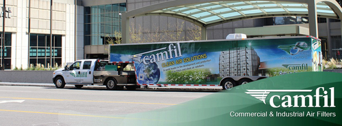 Camfil USA, Inc. the world's leading provider of clean air solutions, is pleased to announce that its unique Mobile Advanced Containment Experience will be touring throughout the United States in 2014.  (PRNewsFoto/Camfil)
