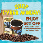 Maui Wowi to Offer 50 Percent Discount on Premium Coffee for Cyber Monday