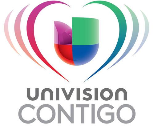 Univision Contigo Logo. (PRNewsFoto/Univision) (PRNewsFoto/UNIVISION) (PRNewsFoto/UNIVISION)