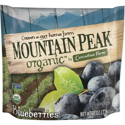 Cascadian Farm Organic introduces Mountain Peak Organic, a new Whole Foods exclusive sub-brand of premium, organic, frozen berries.