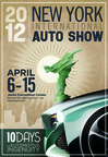 2012 New York Auto Show Poster Combines the Freedom and Liberty of the Automobile & NYC.  (PRNewsFoto/New York International Auto Show)