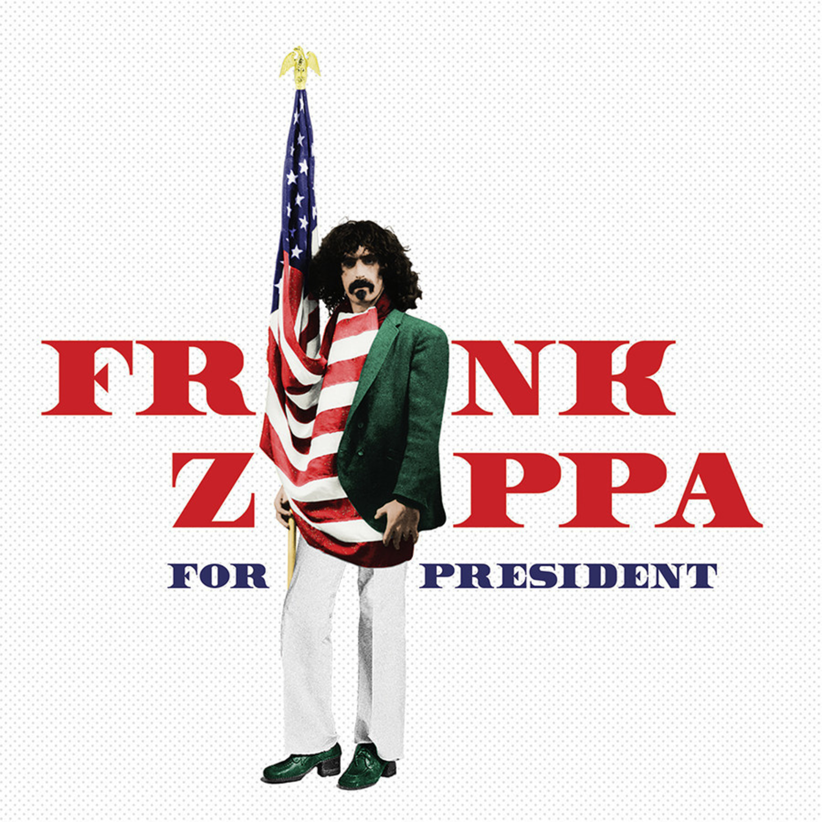 Two new Frank Zappa titles, 'Frank Zappa for President' and 'The Crux of the Biscuit,' will be released on CD July 15 by Zappa Records/UMe. Both releases feature previously unreleased material from the Zappa Vault. www.zappa.com