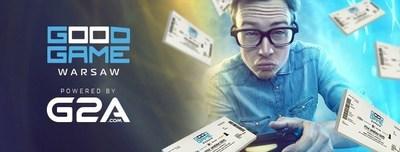 Good Game Expo Powered by G2A.COM: Poland's Brand New Gaming Event (PRNewsFoto/G2A.com)