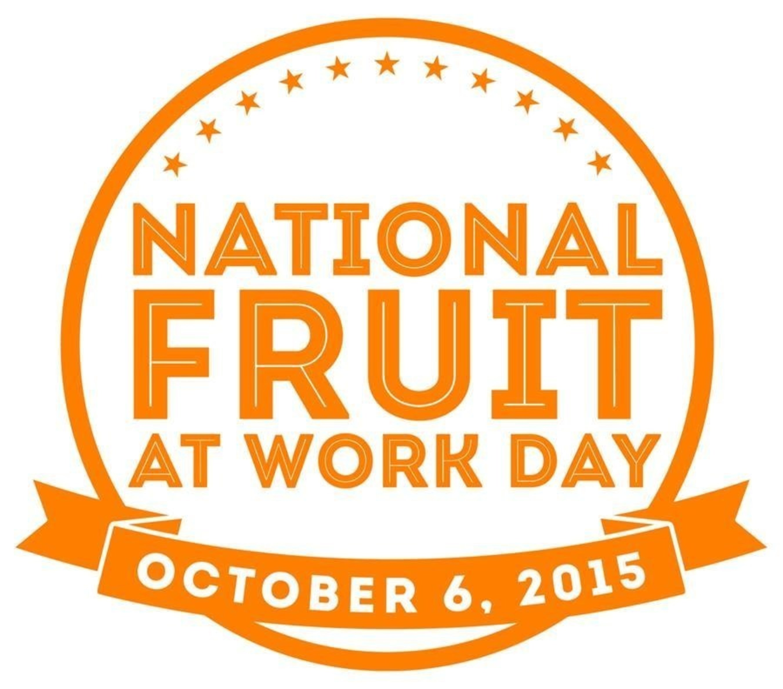 National Fruit at Work Day is October 6, 2015.