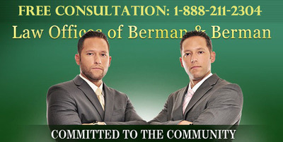 Florida Car Accident Lawyers and Personal Injury Attorneys in Florida, The Berman Law Group.  (PRNewsFoto/The Berman Law Group)