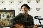 Gavin DeGraw performs for patients at City of Hope for the Musicians On Call Jason Pollack Bedside Performance Program launch (PRNewsFoto/City of Hope)