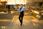 Travis Wall Of Fox's Hit Show So You Think You Can Dance Literally Dances His Way Through Bacchanal Buffet At Caesars Palace