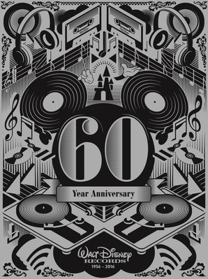 The special 60th Anniversary commemorative artwork designed by UK-based graphic artist Steven Wilson.