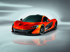 McLaren releases three images of its new supercar, the P1.  (PRNewsFoto/McLaren Automotive)