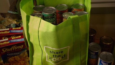 Regions associates participated in food donation drives in several cities as part of Share the Good.