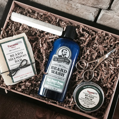 Handsome Beard Care Gift Box Makes The Perfect Gift For The Bearded Man In Your Life