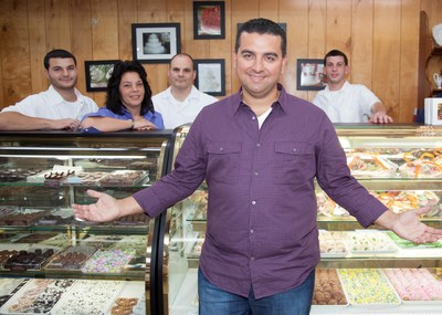 Buddy Valastro, protagonist of Discovery Familia's new series Bakery Boss. Mondays at 10PM E/P.