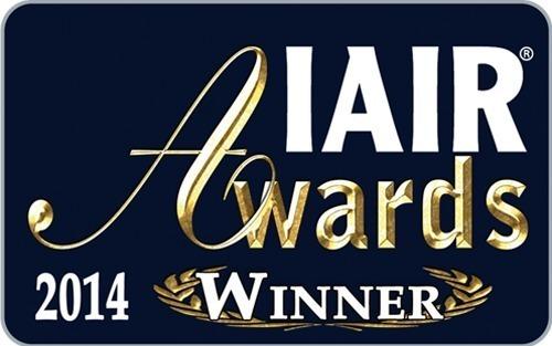 IAIR Awards 2014 Winner logo (PRNewsFoto/Scarinci Hollenbeck)