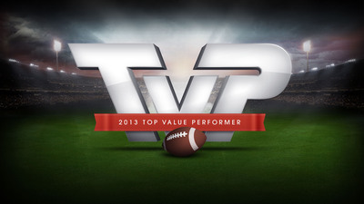 """VIZIO Announces 7th Annual """"Top Value Performer"""" Award Finalists and Encourages Fans to Support Their Favorite Player By Voting and Sounding-Off on Social Media -- 2013 Candidates Include Denver's Julius Thomas, Chicago's Alshon Jeffery, St. Louis' Zac Stacy, Cincinnati's Giovani Bernard and 2012 Winner Seattle's Russell Wilson. (PRNewsFoto/VIZIO, Inc.) (PRNewsFoto/VIZIO, INC.)"""