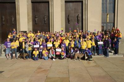 Brookdale raises historic $2 million for Alzheimer's Association's Walk to End Alzheimer's.