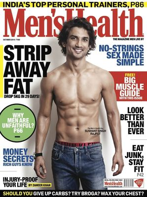 Sushant Singh Rajput Puts Fitness Into Perspective on MH Cover