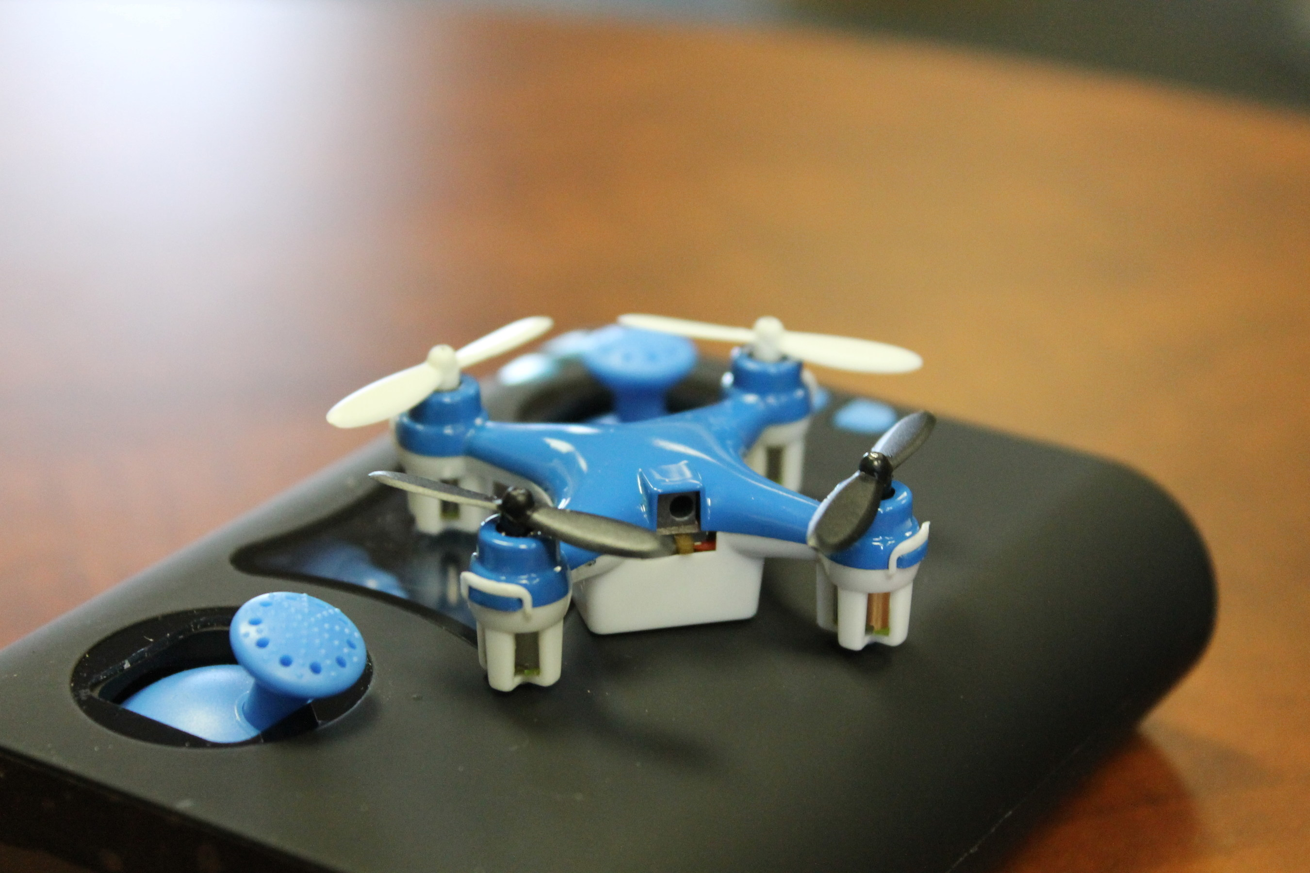 Wallet Drone'', The World's Smallest Quadcopter'' and Controller, is Launching on Indiegogo