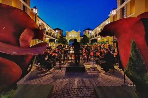 Music, a romantic atmosphere and a Michelin-starred chef promise an outstanding June at Fidenza Village, Italy ...