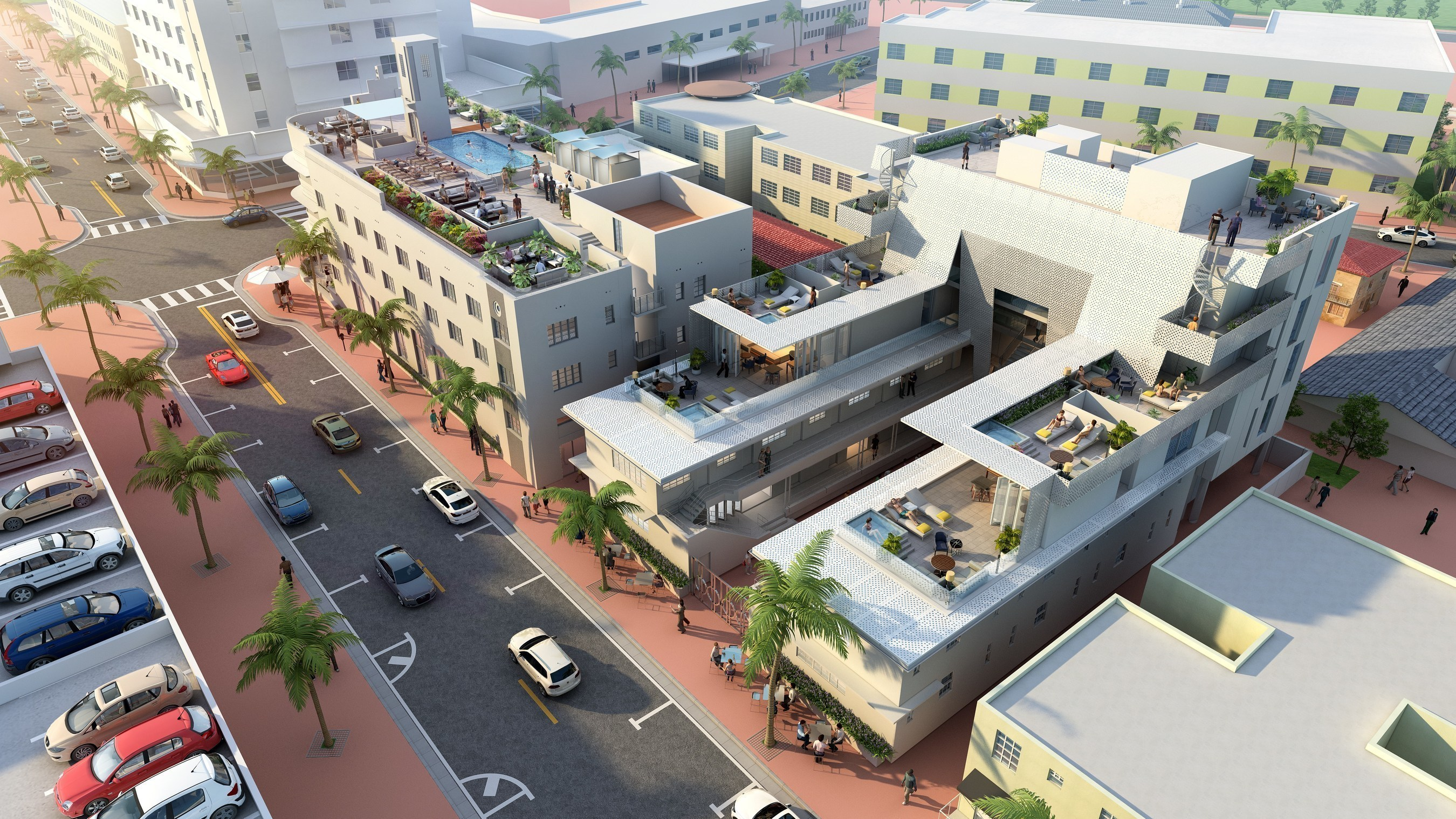 The Greystone Hotel South Beach - Rendering
