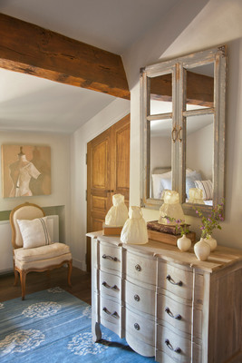 An interior view of the newly revitalized Maison Basse at SCAD Lacoste in Lacoste, France. Image courtesy of SCAD.