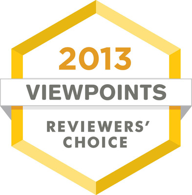 The Viewpoints' Reviewers Choice awards recognize the best products you can buy, based solely on the product reviews written by you, the consumer.  (PRNewsFoto/Viewpoints)