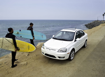 2011 100% Electric CODA Sedan.  (PRNewsFoto/Coda Automotive)
