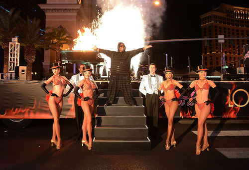CeeLo Green arrives at Planet Hollywood Resort & Casino to launch new show.  (PRNewsFoto/Planet Hollywood ...
