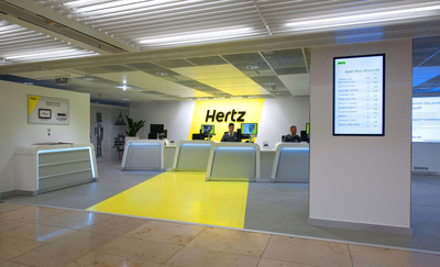 Hertz Brings Its Global Car Rental Revolution To Flagship Location At Frankfurt Airport