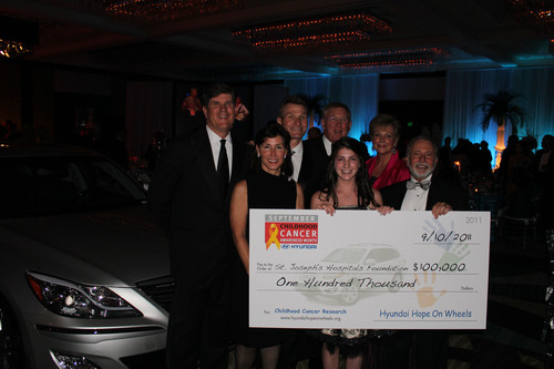 St. Joseph's Hospital Awarded $100,000 Grant From Hyundai Hope on Wheels and Suncoast Hyundai