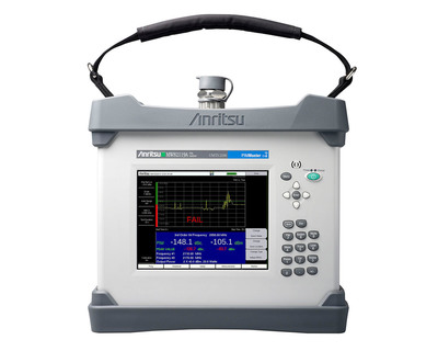 Anritsu PIM Master MW82119A is cost-effective single-instrument solution for measuring PIM in both PCS and AWS networks.  (PRNewsFoto/Anritsu Company)