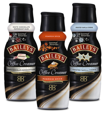 BAILEYS™ Coffee Creamers Announces 2015 Holiday Flavor Lineup