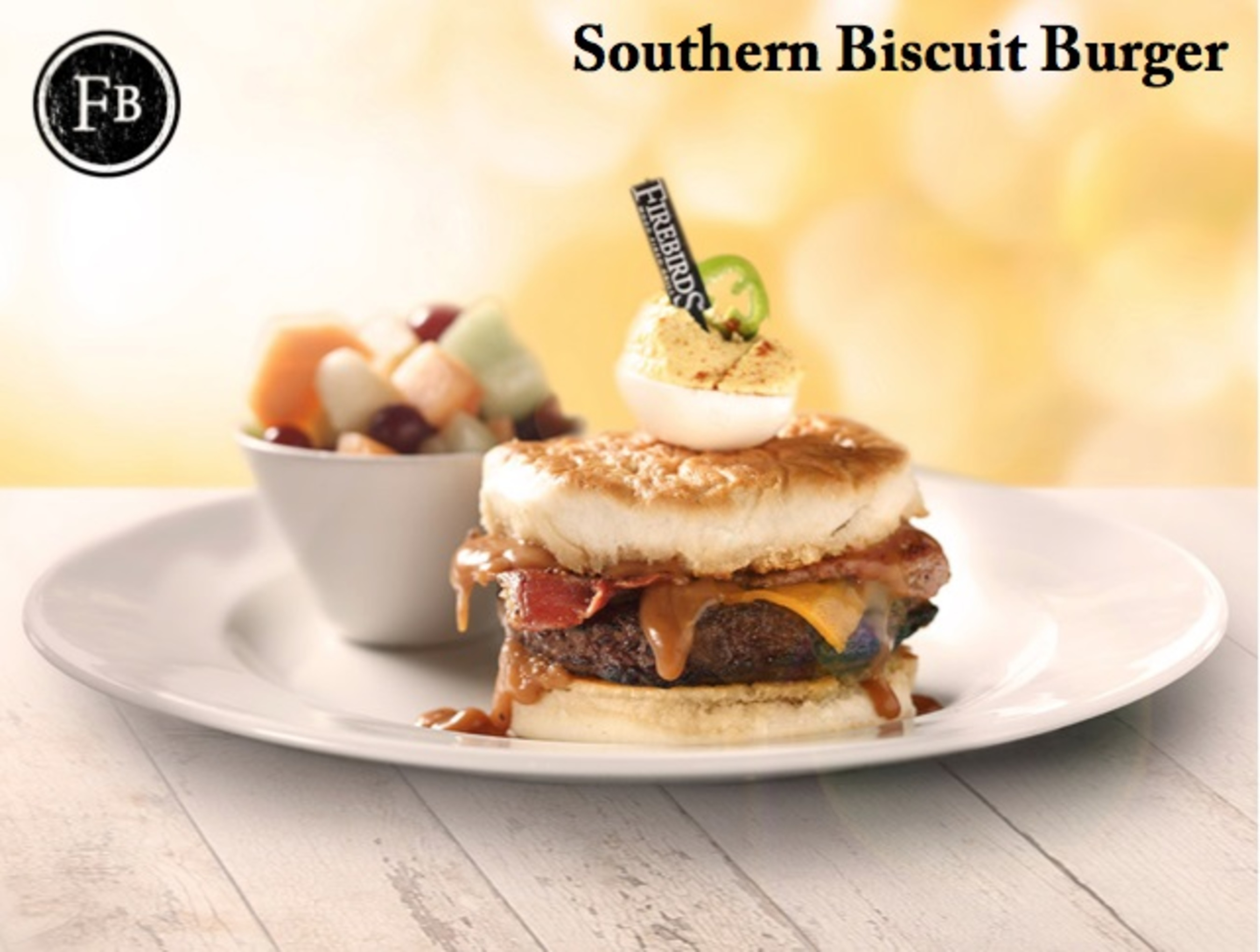 Southern Biscuit Burger