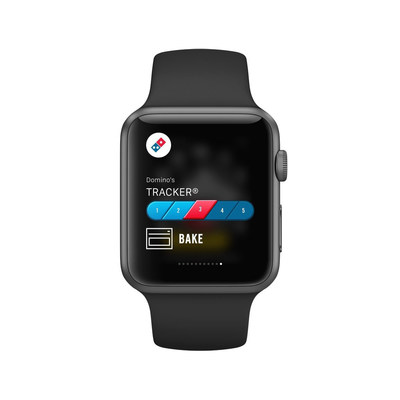 Domino's is launching its new app for Apple Watch, which includes the fan-favorite Domino's Tracker, beginning today.
