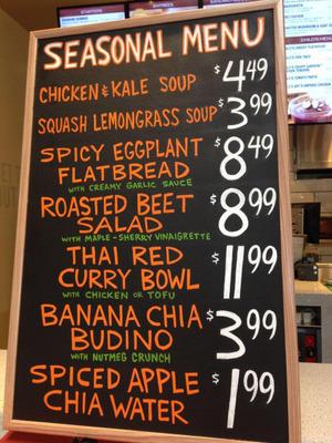 Flavors of fall arrive at LYFE Kitchen.  (PRNewsFoto/LYFE Kitchen)