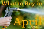 """Spring savings can be deep if you know """"What to buy in April"""" -via FatWallet.com"""