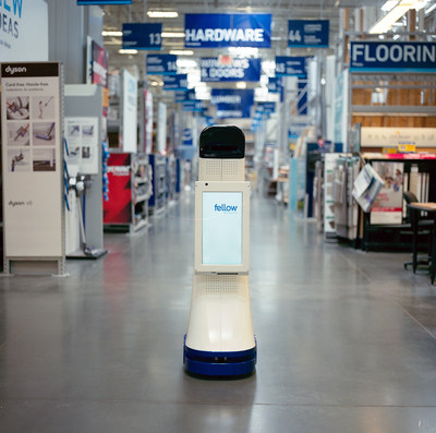 This fall, Lowe's will introduce LoweBot, a NAVii™ autonomous retail service robot by Fellow Robots, in 11 Lowe's stores throughout the San Francisco Bay area.