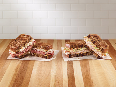 Arby's Reuben and Rachel Sandwiches