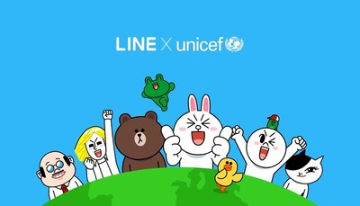 Through this strategic partnership, UNICEF and LINE aims to create a brand value with competitive power and raise funds effectively.