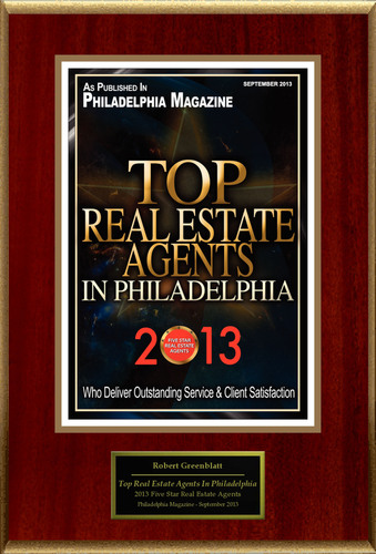"Robert Greenblatt of Keller Williams Realty Selected For ""Top Real Estate Agents In Philadelphia"".(PRNewsFoto/American Registry)"