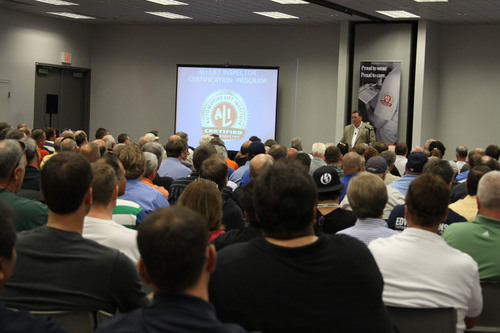 Participants in the Automotive Lift Institute's (ALI) Lift Inspector Certification Program will have the ...