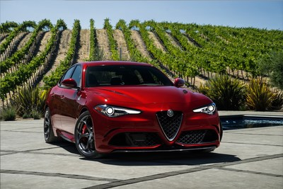 "The all-new 2017 Alfa Romeo Giulia Quadrifoglio Wins ""Star of the Show"" Award at 2016 Miami International Auto Show"
