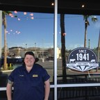 Owner/Operator Danny Demarco stands outside of his new Lake Forest location in Orange County.