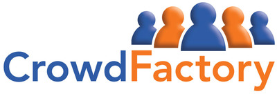 Crowd Factory Logo.  (PRNewsFoto/PR Newswire Association LLC)