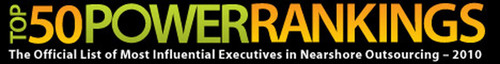 50 Most Influential Outsourcing Executives Named in First Ever Ranking